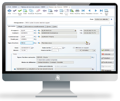 Oxygene CRM-Software
